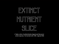 micro_cooking club: Extinct Nutrient Slice
